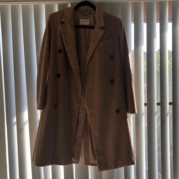 Aritzia Jackets & Blazers - Aritzia camel corduroy coat